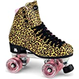 Moxi Skates - Ivy Jungle - Fashionable Womens Roller Skates | Leopard | Size 8
