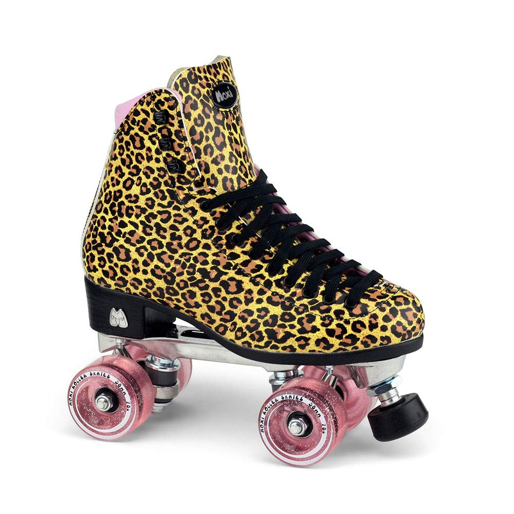 Moxi Skates - Ivy Jungle - Fashionable Womens Roller Skates (Size 5)