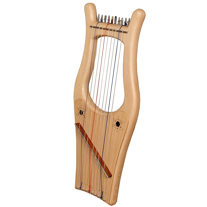 muzikkon Kinnor Arpa, 10cadena Mini Kinnor Arpa, King David Arpa