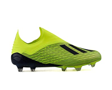 innovative design 0b283 58540 Adidas X 18+ FG, Chaussures de Football Homme, Jaune SyelloCblack