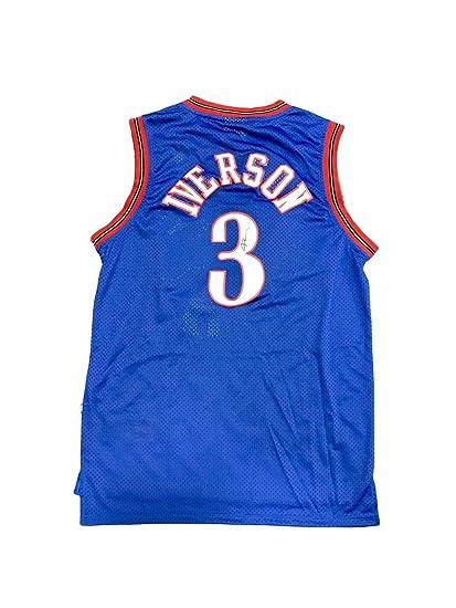 Allen Iverson Autographed Jersey - Alternate Blue - JSA Certified -  Autographed NBA Jerseys 3df6d3015949