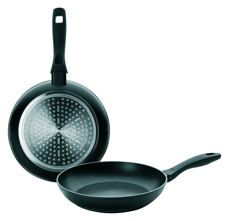 IBILI Chef Style - Juego de sartenes, Color Negro, Aluminio ...