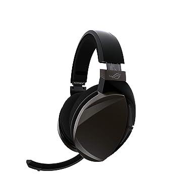 Asus ROG Strix Fusion Wireless - Auriculares gaming con conectividad inalámbrica de baja latencia de 2,4 GHz, 15 horas de autonomía, altavoces Asus Essence, ...