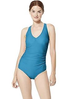 1545b34860 Amazon.com: Speedo women's Valentina Long-Sleeve Onepiece Swimsuit ...