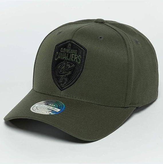 57e854c5810 Mitchell   Ness Men Caps Snapback Cap The Olive   Black 2 Tone Logo ...