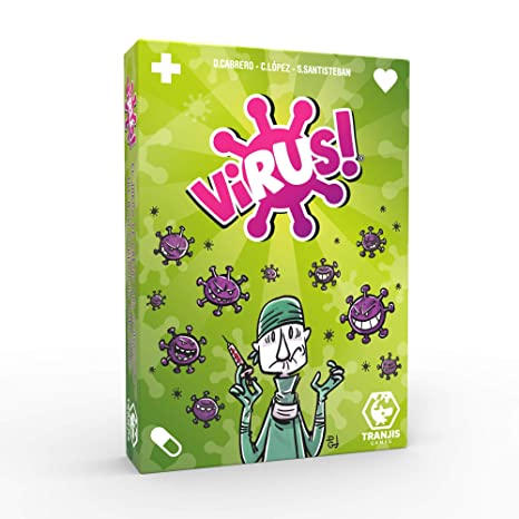 47981185e9d0d Tranjis Games TRG-01vir - Virus! - Juego de cartas  Amazon.es ...