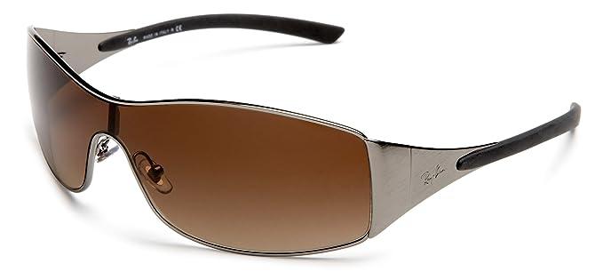 ac85735b859 Ray-Ban Sunglasses (RB 3268 041 13 133)  Ray-Ban  Amazon.co.uk  Clothing