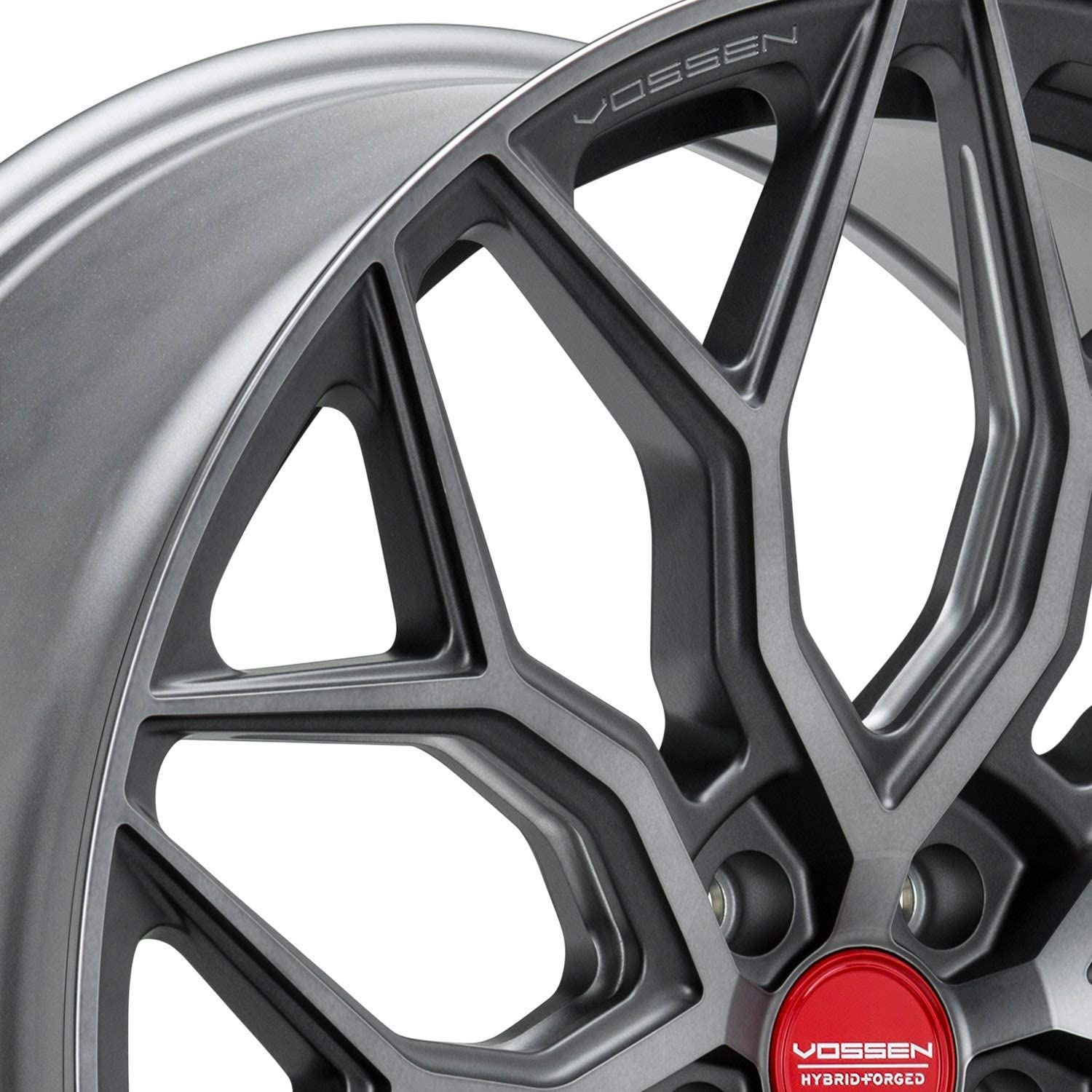 HOSTILE Fury Gloss Black Wheel with Milled Finish 22 x 12. inches //6 x 139 mm, -44 mm Offset