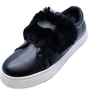 416b4605d113 HeelzSoHigh Ladies Flat Black Lace-Up Trainers Comfy Pumps Plimsolls Casual  Shoes Sizes 3-