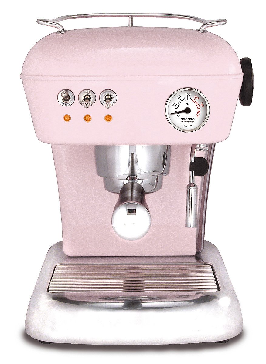 ascaso 600753 Cafetera expreso Dream, color rosa: Amazon.es: Hogar