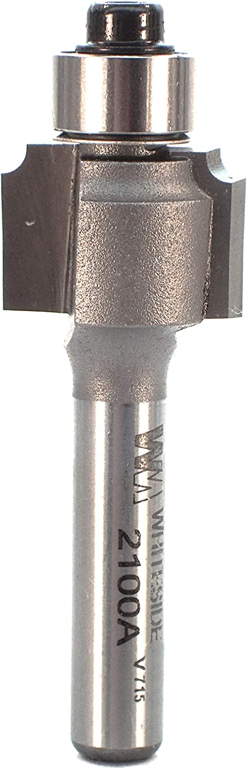 Whiteside Router Bits 2100A Beading Bit with Ball Bearing
