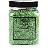 Bath Salts Eucalyptus Aromatherapy - Made in UK (450g) Natural Dead Sea Bath Salt for Women, Men, Girls and Kids. Luxury Detox with Essential Oils