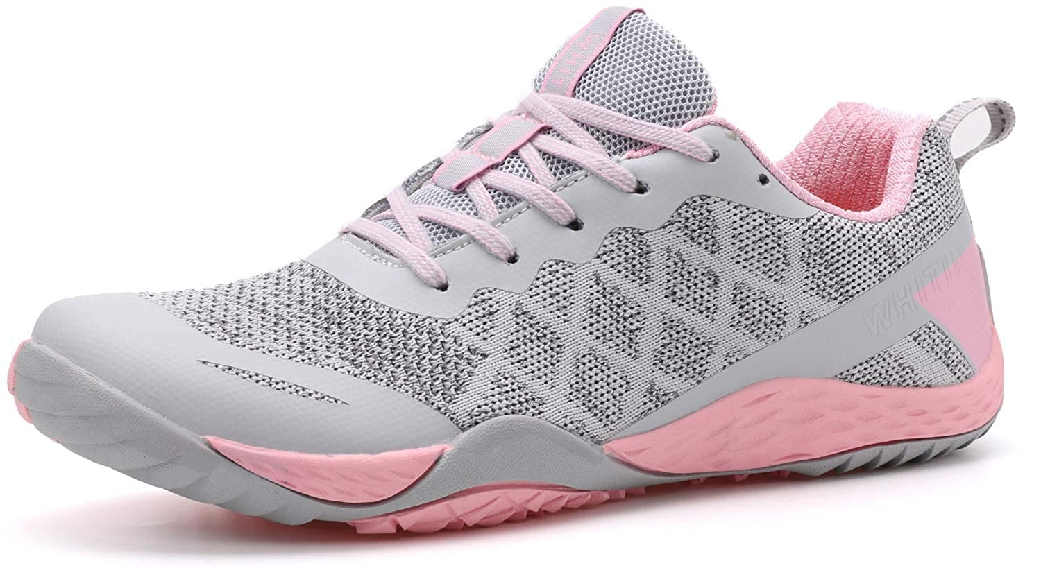 Buy Whitin Women S Minimalist Barefoot Shoes Low Zero Drop Trail Running Camping Wide Toe Box For Female Lady Fitness Gym Workout Sneaker Tennis Minimus Parkour Road Hiking Pink Size 10 At Amazon In