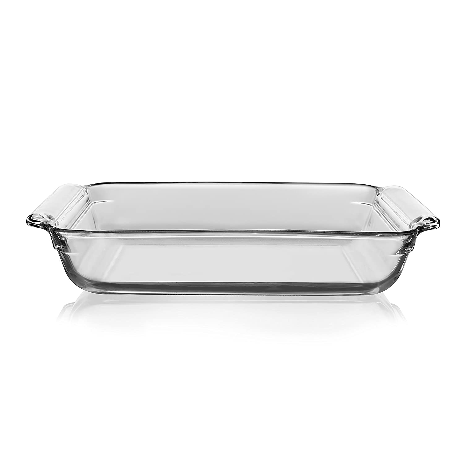 Amazon.com: Libbey Bakers Basics Glass Casserole Baking Dish, 9-inch by 13-inch: Kitchen & Dining