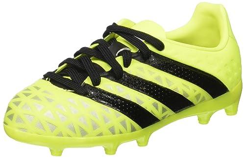 buy online 46efa 68699 adidas Ace 16.1 Fg, Scarpe da Calcio Unisex – Bambini, Giallo (Solar Yellow