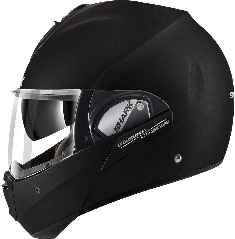 EVOline de tibur/ón 3/hataum KWR cascos de motocicleta tama/ño M color negro//blanco//rojo