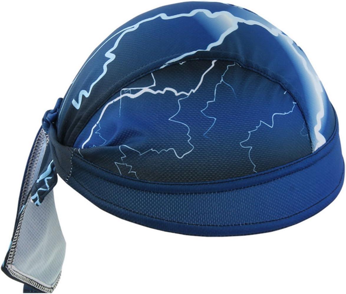 JameStyle26 Bandana Casquette Respirante pour v/élo Protection UV Unisexe