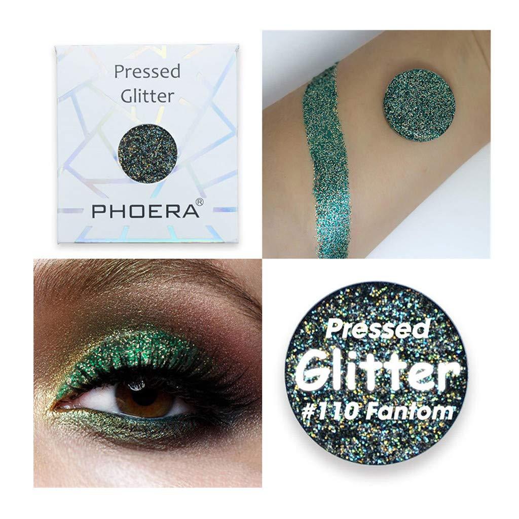 ℱLOVESOOℱ Eyeshadow Palette, Customize Magnetic Pan Eyeshadow Shimmer Matte Glitter Pearl Eye Shadow Powder Under 5 Dollars