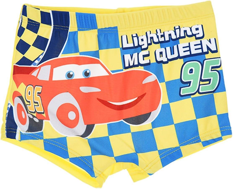 Boxer da Bagno Bambino Ragazzo MC QUEEN Cars blu e giallo di 6/a 23/mesi Giallo giallo 18 mesi