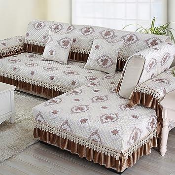 Qje Sofa Cushion Modernes Sofa Kissen Vier Jahreszeiten Stoff Kissen