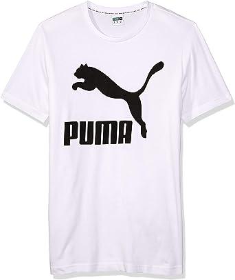 TALLA M. PUMA Classics Logo - T-Shirt Hombre