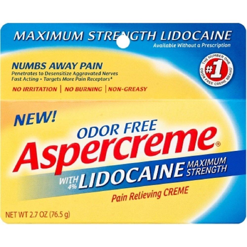 Aspercreme - Pain Relief - 4% Cream - 2.7 oz. - 12/Case-McK by Aspercreme