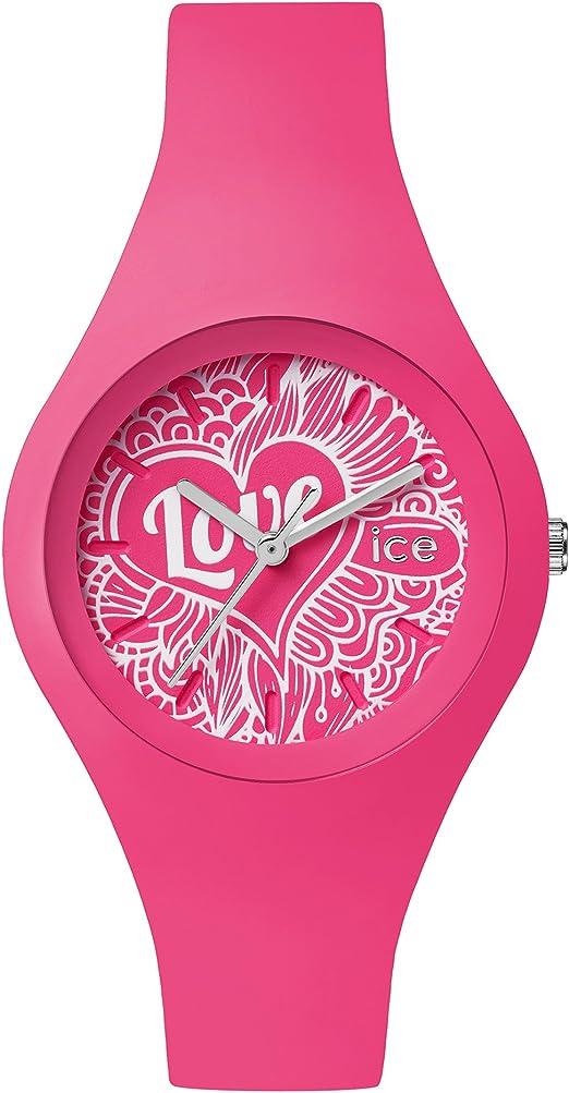 les plus récents styles frais prix d'usine Ice-Watch - ICE love 2016 Pink Doodle - Montre rose pour ...