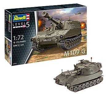 Revell- Maqueta de Tanque M109 G Obus orgin Algas fidelidad ...
