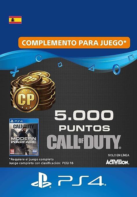 Call of Duty : Modern Warfare 2400 Points | Código de descarga PS4 - Cuenta española: Amazon.es: Videojuegos