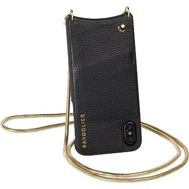 2ded74762f Bandolier  Belinda  Case for iPhone X Model - Golden Snake Chain   Black  Genuine