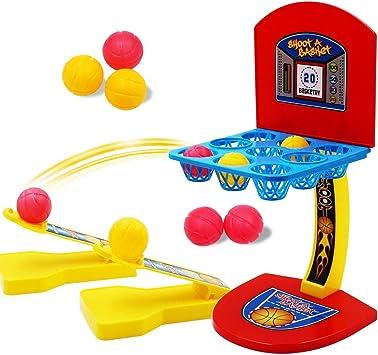 Ulable Juego de mesa de diversión familiar Juego de mini pelota de ...