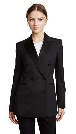 Amazon Com Theory Women S Wool Tux Jacket Clothing