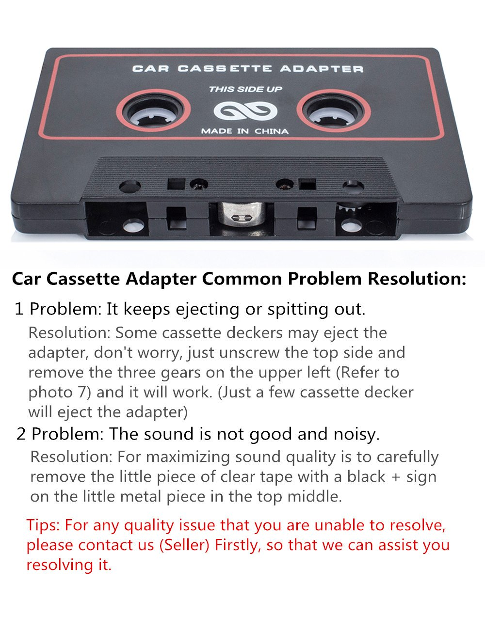Toyota Corolla Repair Manual: Sound quality is bad only when playing tape