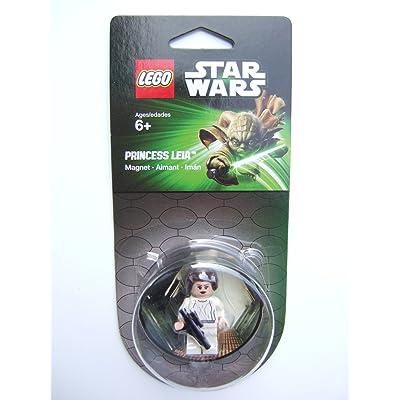 LEGO Star Wars Princess Leia Magnet: Toys & Games