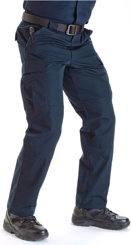 TDU Green 5.11 Tactical Mens Ripstop TDU Work Pants Style 74003 Adjustable Waistband Large Lightweight Bottom