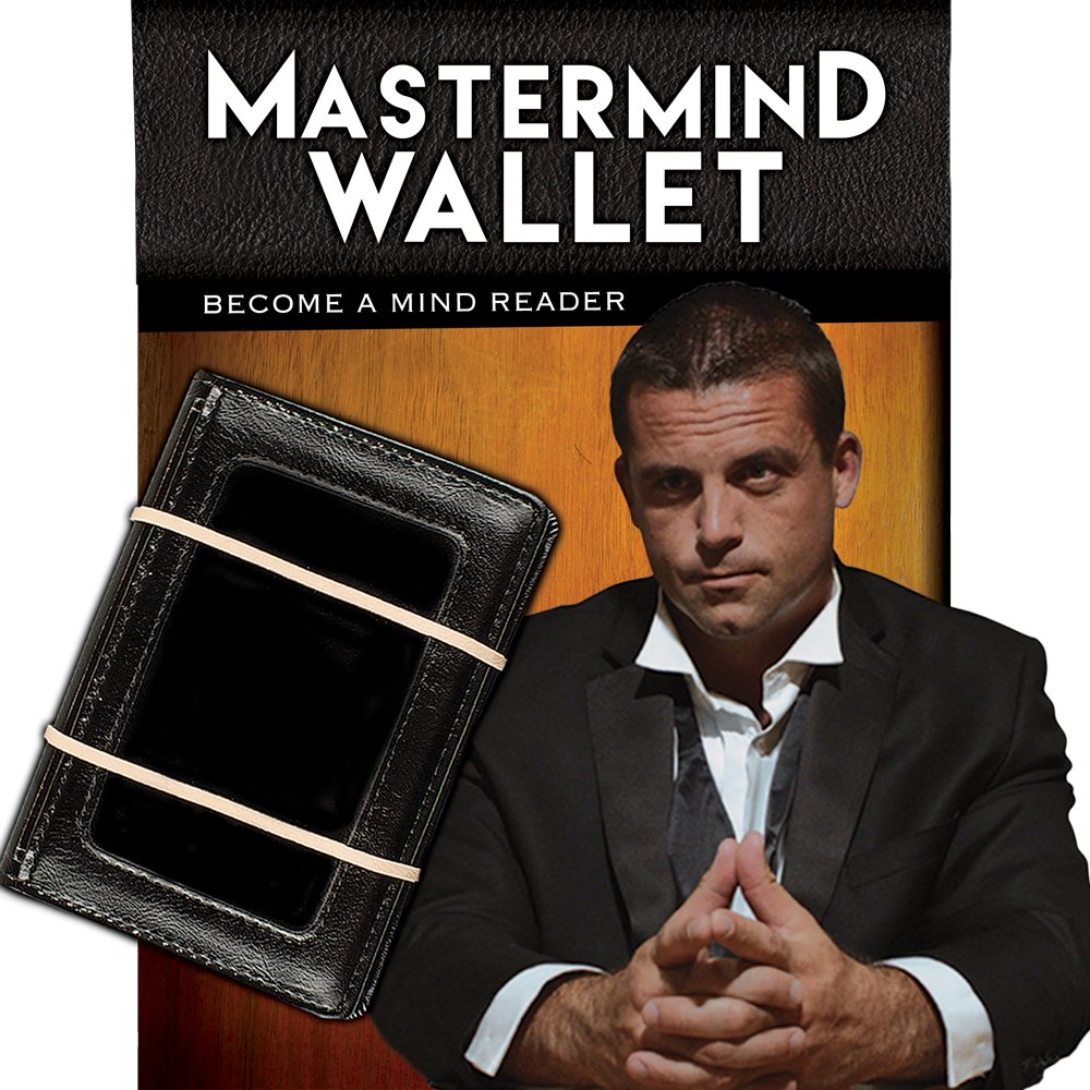 Magic Makers Mastermind Wallet - The Ultimate Mind Reading Device