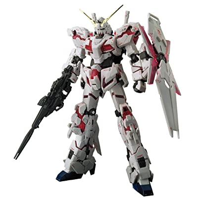 Bandai Hobby RG 1/144 Unicorn Gundam UC Model Kit Figure: Toys & Games