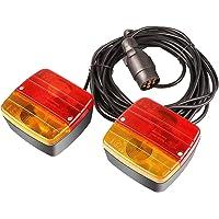 MVPower Achterlichten voor aanhanger auto Achterlicht met magneet 7m kabel, 7-polig 12 Volt 21 W
