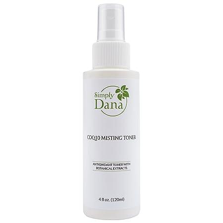 Simply Dana CoQ10 Misting Toner Antioxidant Toner with Botanical Extracts 4 fl. oz. 120ml