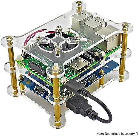 elecrow batería de litio pack expansión Junta fuente de ...