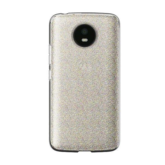 new concept 26f8b a387e Incipio Multi-Glitter Motorola Moto E4 Case [Design Series Classic] for  Motorola Moto E4 - Multi-Glitter