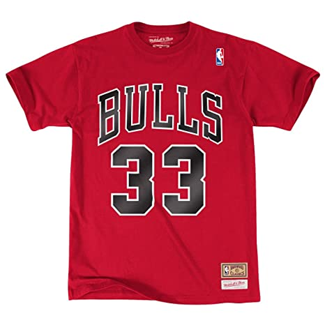 Camiseta Scottie Pippen Chicago Bulls (S)