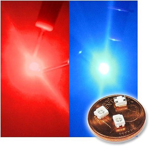 World Trading Net 20 Smd Led Plcc 2 3528 Bicolor Rot Elektronik