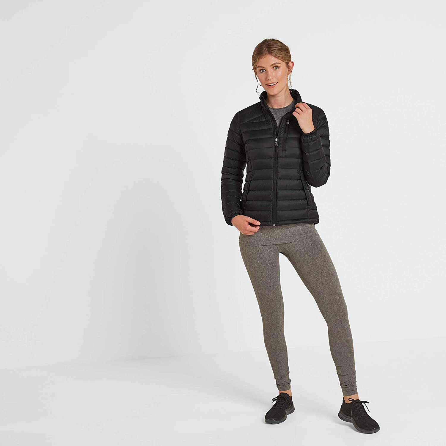 Ultrawarm Outerwear or mid Layer Lightweight and Smooth Packs Down Small into Integral Zip Pocket TOG 24 Drax Womens Packable Down Jacket