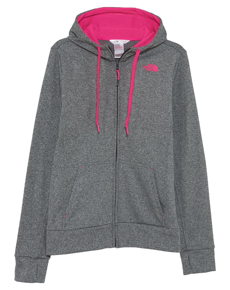 North Face Fave Full Zip Hoodie Womens Style : A6s0