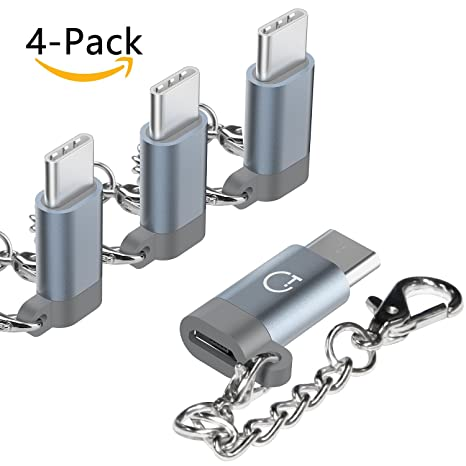 Adaptador Type C, Gritin 4 pack Adaptador usb Type C a Micro ...