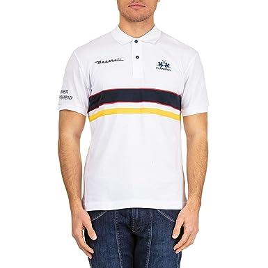 La Martina Nmpm38pk00100001 - Polo de algodón para hombre, color ...