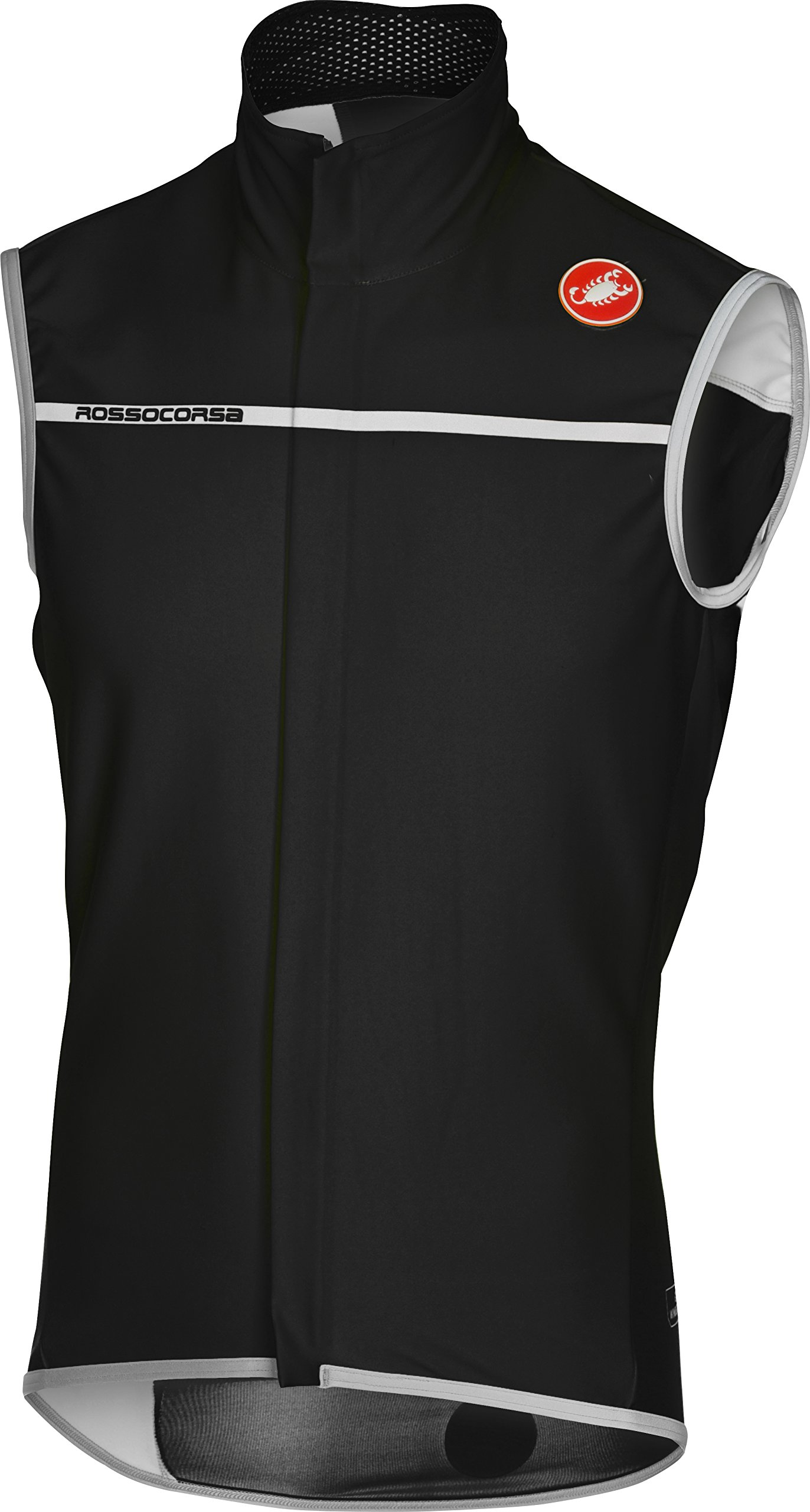 Castelli Perfetto Vest - Men's Light Black, M by Castelli