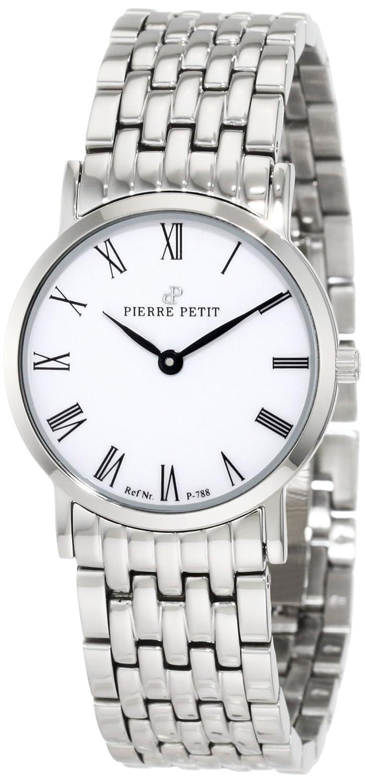 Pierre Petit Damen-Armbanduhr XS Nizza Analog Edelstahl P-788G