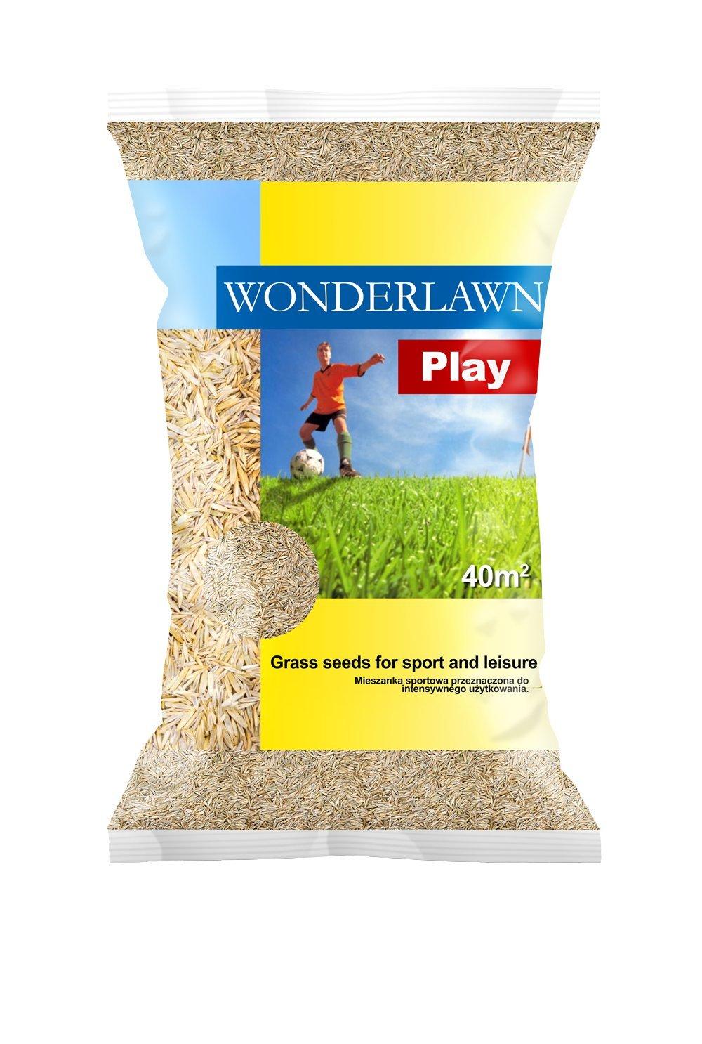 Barenbrug Wonderlawn Play 30kg Sportrasen Spielrasen Rasensamen Grassamen Rasensaat